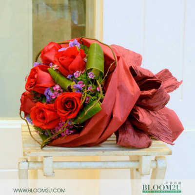 Boudica Bouquet by BLOOM2U.com