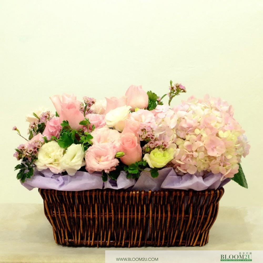 Fleur Française Panier