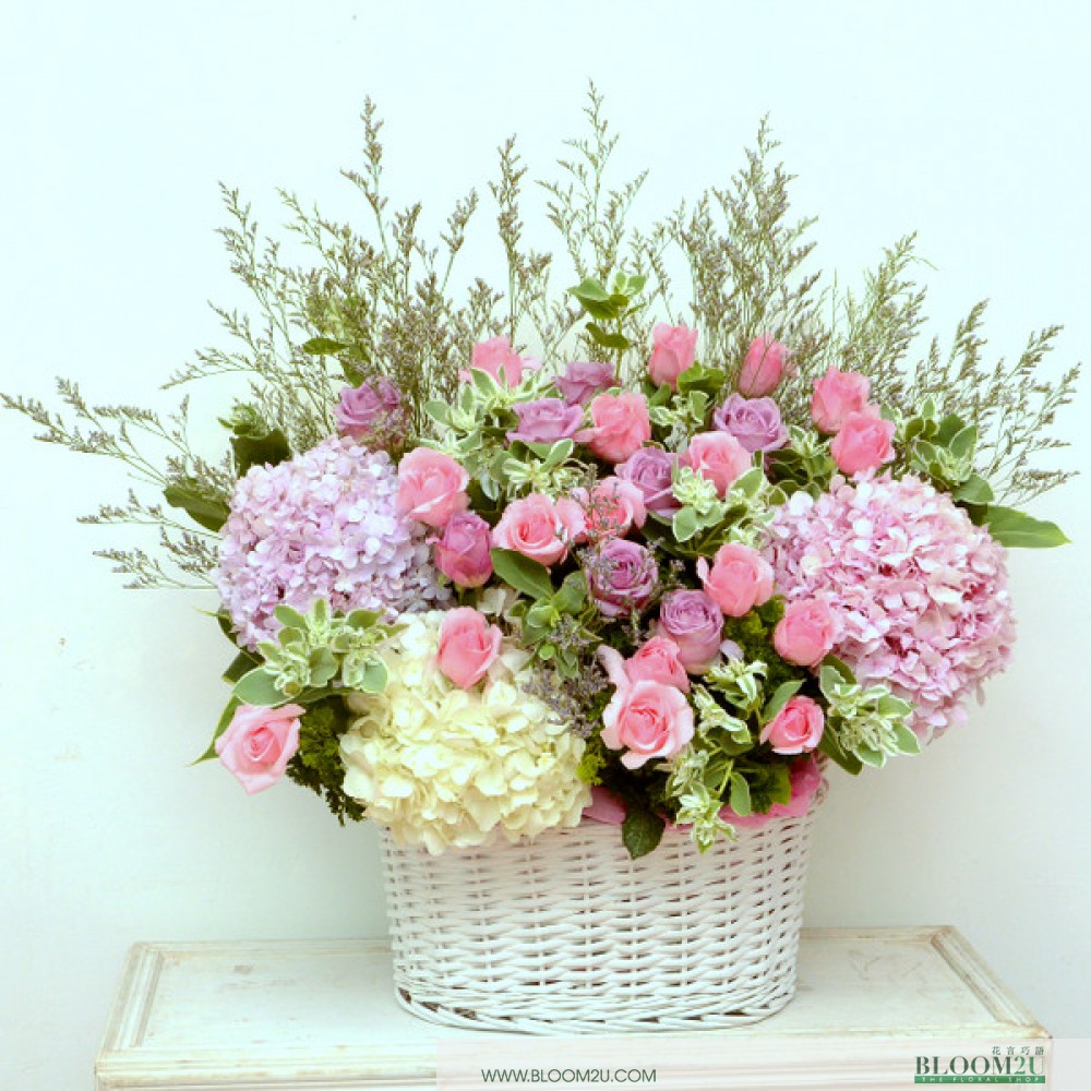 Gabrielle Bonheur Flower arrangement by Bloom2U
